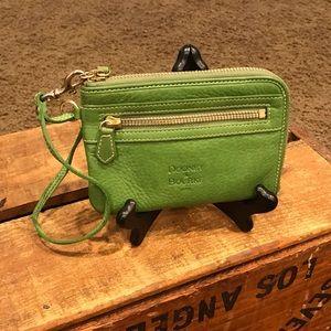 Dooney & Bourke Green Leather Wristlet